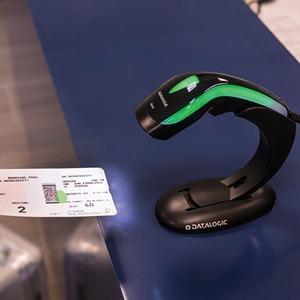 Datalogic Heron HD3430. Typ: Tragbares Barcodelesegerät, Scan-Typ: 2D, Sensor-Typ: Laser. Übertragungstechnik: Verkabelt,