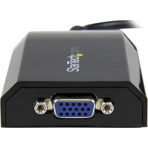StarTech.com 15,75 cm USB/VGA Videokabel für Projektor, TV, Monitor, Grafikkarte, Notebook, MAC, Desktop-Computer - Erster