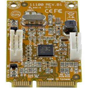 StarTech.com Gigabit-Ethernet-Karte - 10/100/1000Base-T - Plug-in-Karte - Mini PCI Express - Realtek RTL8111E - 1 Anschlus