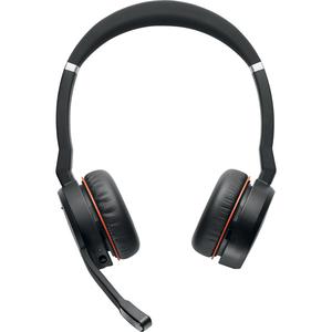 Jabra EVOLVE 75 MS Kabellos Kopfbügel Stereo Headset - Binaural - Ohrumschließend - 20 Hz bis 20 kHz Frequenzgang - 3048 c