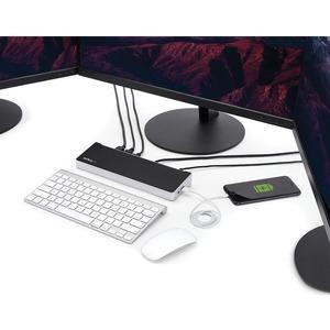 StarTech.com USB-Typ C Docking Station für Notebook/Tablet-PC - 60 W - TAA-konform - 5 x USB-Anschlüsse - 5 x USB 3.0 - Ne