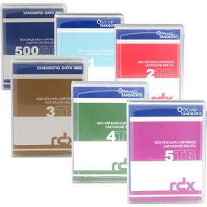 Cartouche disque dur Tandberg 8862-RDX - Externe - 5 To - SATA (SATA/600) - USB 3.0