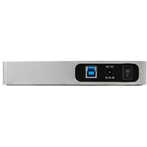 StarTech.com 7 Port USB C Hub with Fast Charge - 5x USB-A & 2x USB-C (USB 3.0 SuperSpeed 5Gbps) - USB 3.1 Gen 1 Adapter Hu