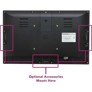 "Mimo Monitors Adapt-IQV MCT-156HPQ-POE-5MC Digital Signage Display - 15.6"" LCD - Touchscreen - Rockchip RK3288 - 1920 x 10"