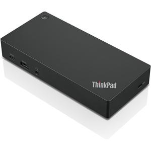 Station d'accueil Lenovo USB Type C pour Tablette PC - 60 W - 6 x Ports USB - 2 x USB 2.0 - USB Type-C - Réseau (RJ-45) -