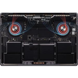 "Apple MacBook Pro MVVJ2B/A 40.6 cm (16"") Notebook - 3072 × 1920 - Intel Core i7 (9th Gen) Hexa-core (6 Core) 2.60 GHz - 16"