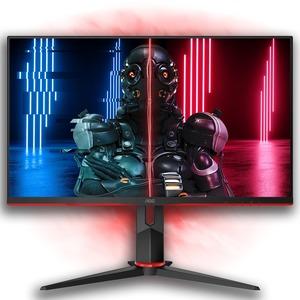 AOC C27G2ZU 68,6 cm (27 Zoll) Full HD Gekrümmter Bildschirm WLED Gaming-LCD-Monitor - 16:9 Format - Rot - 685,80 mm Class