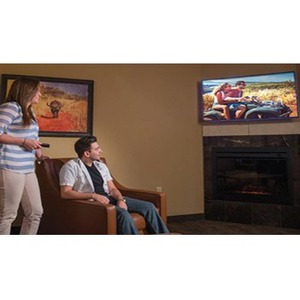 "Samsung Hospitality NT670U HG55NT670UF 55"" LED-LCD TV - 4K UHDTV - Black - HDR10+, HLG - Direct LED Backlight - 3840 x 216"
