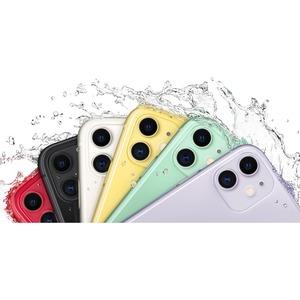 "Smartphone Apple iPhone 11 128 Go - 4G - Écran 15,5 cm (6,1"") LCD1792 x 828 - 4 Go RAM - Blanc - Barre - 2 Support de SIM"