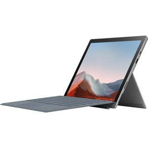 "Microsoft Surface Pro 7+ Tablet - 12.3"" - 8 GB RAM - 128 GB SSD - Windows 10 Pro - Platinum - Intel Core i5 11th Gen i5-11"
