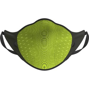 AirPop Active Mask (Black) - Recommended for: Face, Indoor, Outdoor - Comfortable, Breathable, Filter, Durable, Reusable,