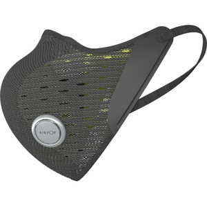 AirPop Active+ Smart Mask - Recommended for: Face - Breathable, Flexible, Strong, Durable, Soft, Abrasion Resistant, Water