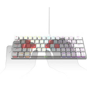 Cooler Master SK620 Gaming Mouse - Cable Connectivity - USB 2.0 Type A Interface - RGB LED - MAC - Mac OS, Windows, PC - M