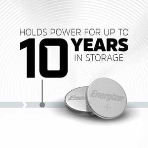 Energizer 2032 Lithium Coin Battery, 2 Pack - For Multipurpose - 3 V DC - Lithium (Li) - 2 / Pack TWO PACK