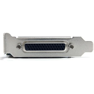StarTech.com 4 Port PCI Express Serial Card w/ Breakout Cable - PCI Express x1 - 4 x DB-9 Male RS-232 Serial Via Cable - P