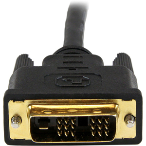 StarTech.com 1,5m HDMI auf DVI-D Kabel - St/St. Kabellänge: 1,5 m, Anschluss 1: HDMI, Anschluss 2: DVI-D. Verpackungsbreit