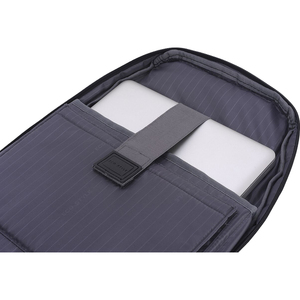 """ECO STYLE Tech Exec Carrying Case (Backpack) for 15"""" to 15.6"""" Notebook - Checkpoint Friendly - Shoulder Strap FRIENDLY FOR"""