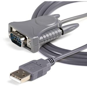 StarTech.com 91,44 cm Seriell/USB Datentransferkabel für Notebook, Desktop-Computer, Computer, PC, Monitor, Sensor, Scanne
