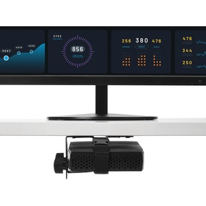 StarTech.com Thin Client Halterung - VESA - Thin Client PC Monitor Halterung - max. 5 kg Traglast - 75 x 75, 100 x 100 VES