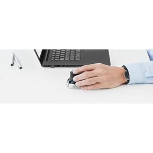 3Dconnexion SpaceMouse 3D-Eingabegeräte - Funkfrequenz - USB - 2 Programmable Button(s) - Schwarz, Silber - Kabel/Drahtlos