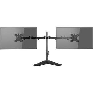 """V7 DS2FSD-2E Monitor Stand - Up to 81.3 cm (32"""") Screen Support - 8 kg Load Capacity - 46.5 cm Height x 28 cm Width - Desk"""