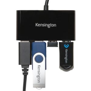 Kensington USB-Hub - USB - Extern - 4 Total USB Port(s) - 4 USB 3.0 Port(s)