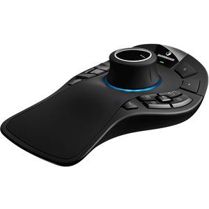3Dconnexion SpaceMouse Pro 3D-Eingabegeräte - Funkfrequenz - USB - Kabel/Drahtlos - 2,40 GHz