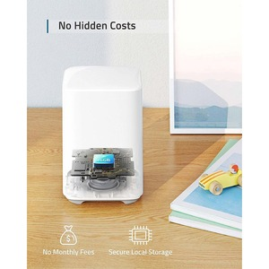 eufy Security, eufyCam 2 Wireless Home Security Add-on Camera, Requires HomeBase 2, 365-Day Battery Life, HomeKit Compatib