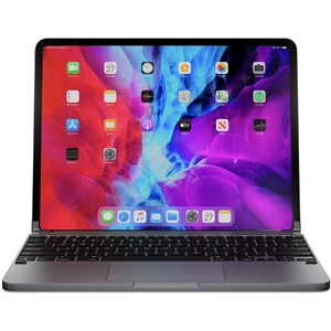Brydge Brydge Pro+ 12.9 Keyboard - Wireless Connectivity - Bluetooth - English - QWERTY Layout - iPad Pro - TouchPad - iOS