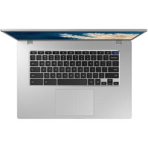 "Samsung Chromebook 4+ XE350XBA 15.6"" Chromebook - Intel Celeron N4020 - 4 GB RAM - 32 GB Flash Memory - Platinum Titan - C"