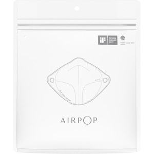 AirPop Filter Refill (4 pack) (White) - Recommended for: Face - 4-layered Filter - Airborne Particle, Bacteria, Pollen, Du
