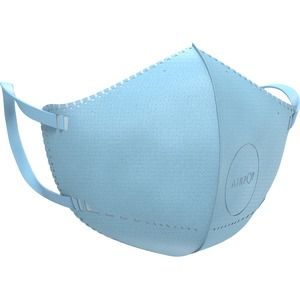 AirPop Kids NV (4pcs) (Blue) - Recommended for: Face - Skin-friendly, Comfortable, Ergonomic Design, Disposable, Breathabl