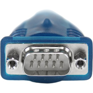 StarTech.com USB auf Seriell RS232 / DB9 Adapterkabel - St/St. Produktfarbe: Grau, Kabellänge: 0,43 m, Anschluss 1: USB 2.