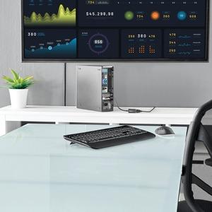 StarTech.com 21,08 cm DisplayPort/HDMI AV-Kabel für Audio-/Video-Gerät, Projektor, Monitor, Notebook, HDTV, TV, Desktop-Co