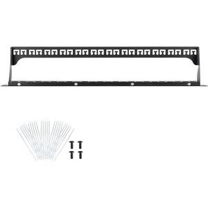 "Monoprice 24-port Keystone Jack Panel - 24 Port(s) - 1U High - 19"" Wide - Rack-mountable JACK PANEL"