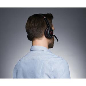Jabra EVOLVE 75 Kabellos Kopfbügel Stereo Headset - Binaural - Ohrumschließend - 20 Hz bis 20 kHz Frequenzgang - 3048 cm R