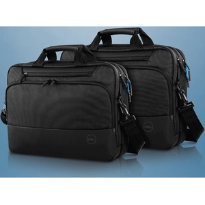 Dell Pro Tasche (Aktentasche) für 38,1 cm (15 Zoll) Dell Notebook - Schwarz - EVA-Schaumstoff, 1680D Ballistischer Polyest