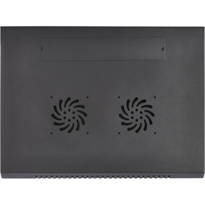V7 9U Rack Wall Mount Vented Enclosure - For LAN Switch, Patch Panel - 9U Rack Height - Wall Mountable, Floor Standing - C