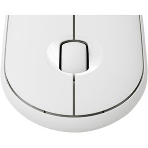 Souris Optique Logitech Pebble M350 - Bluetooth/Radio Fréquence - USB - 3 Bouton(s) - Blanc cassé - Sans fil - 2,40 GHz -