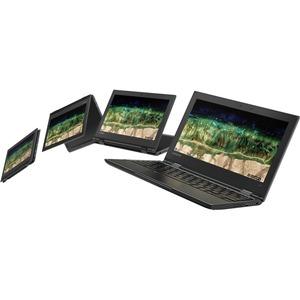 "Lenovo 500e Chromebook 2nd Gen 81MC001EUS 11.6"" Touchscreen 2 in 1 Chromebook - HD - 1366 x 768 - Intel Celeron N4120 Quad"