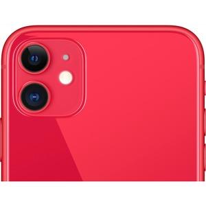 "Smartphone Apple iPhone 11 64 Go - 4G - Écran 15,5 cm (6,1"") LCD1792 x 828 - 4 Go RAM - Rouge - Barre - 2 Support de SIM -"