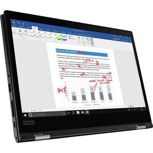 Lenovo ThinkPad L13 Yoga Gen 2 20VK0013GE 33,8 cm (13,3 Zoll) Touchscreen 2 in 1 Notebook - Full HD - 1920 x 1080 - Intel