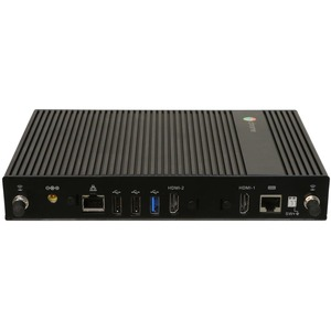 AOpen Chromebox Commercial 2 Chromebox - Intel Celeron - 4 GB RAM DDR4 SDRAM - 32 GB SSD - Black - Chrome OS - Intel DDR4