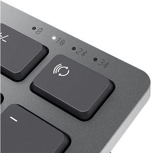 Dell Premier KM7321W Keyboard & Mouse - USB Wireless Bluetooth/RF - English (UK) - Keyboard/Keypad Color: Titan Gray - USB