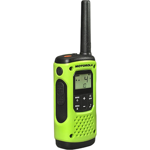 Motorola T605 Rechargeable Two-Way Radios (Dual Pack With Accessories) - 22 Radio Channels - Upto 184800 ft - 121 Total Pr