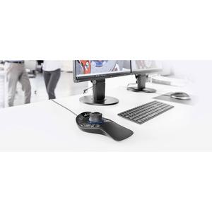 3Dconnexion SpaceMouse Pro 3D-Eingabegeräte - USB - 15 Programmable Button(s) - Schwarz - Kabel