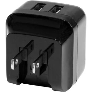 StarTech.com 2 Port USB Ladegerät / Netzteil - 2-fach Ladestecker 17 Watt / 3.4 Amp - Reiseladegerät - 5 V Gleichstrom - 3