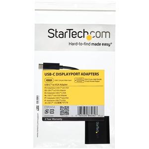 StarTech.com 13,97 cm USB/VGA Videokabel für Monitor, Projektor, TV, MacBook, Chromebook, Notebook, Videogerät - 1 - Erste