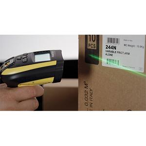 Datalogic PowerScan PM9100-433RBK10 Handheld Barcode-Scanner-Set - Kabellos Konnektivität - Gelb, Schwarz - 1D - Bildwandl