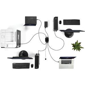 StarTech.com USB-Switch - Micro USB - Extern - Schwarz - 8 Total USB Port(s) - 8 USB 3.0 Port(s)